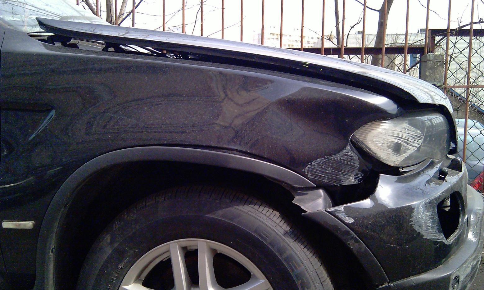 Ремонт автомобиля BMW X5 E53 2005г