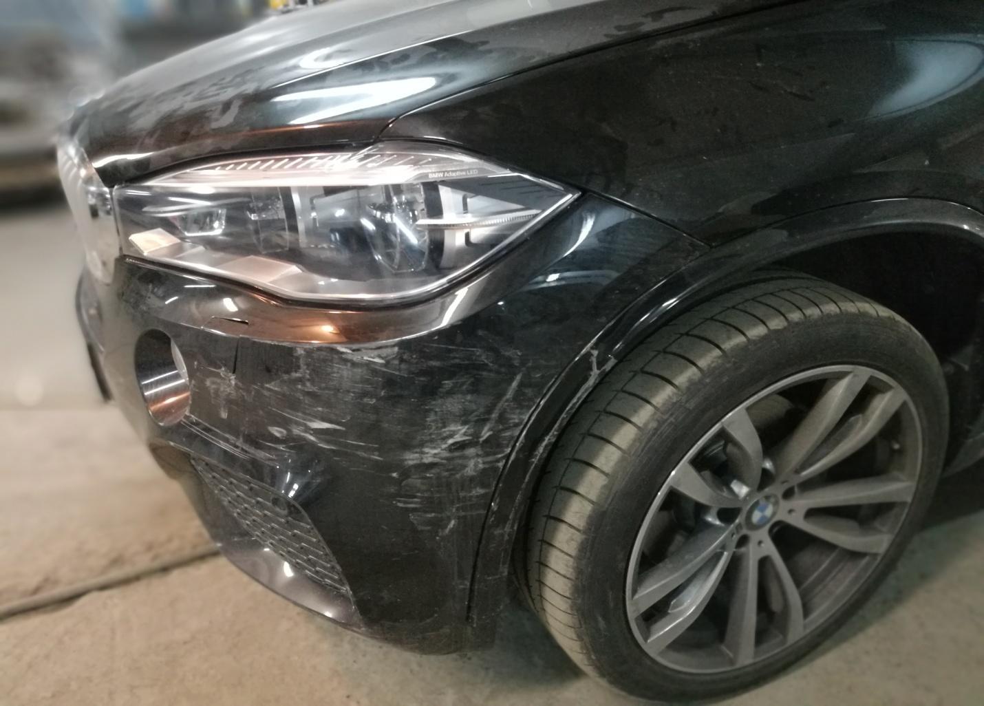 BMW X5 M пакет кузов F15 2016