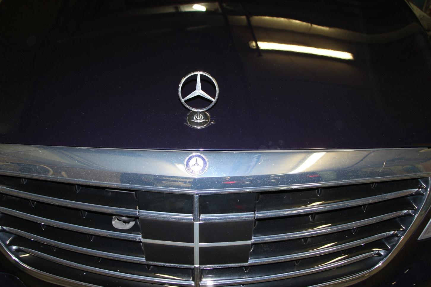 Ремонт Mercedes Benz S-Класс кузов W222 цвет - перламутр с ксераликом