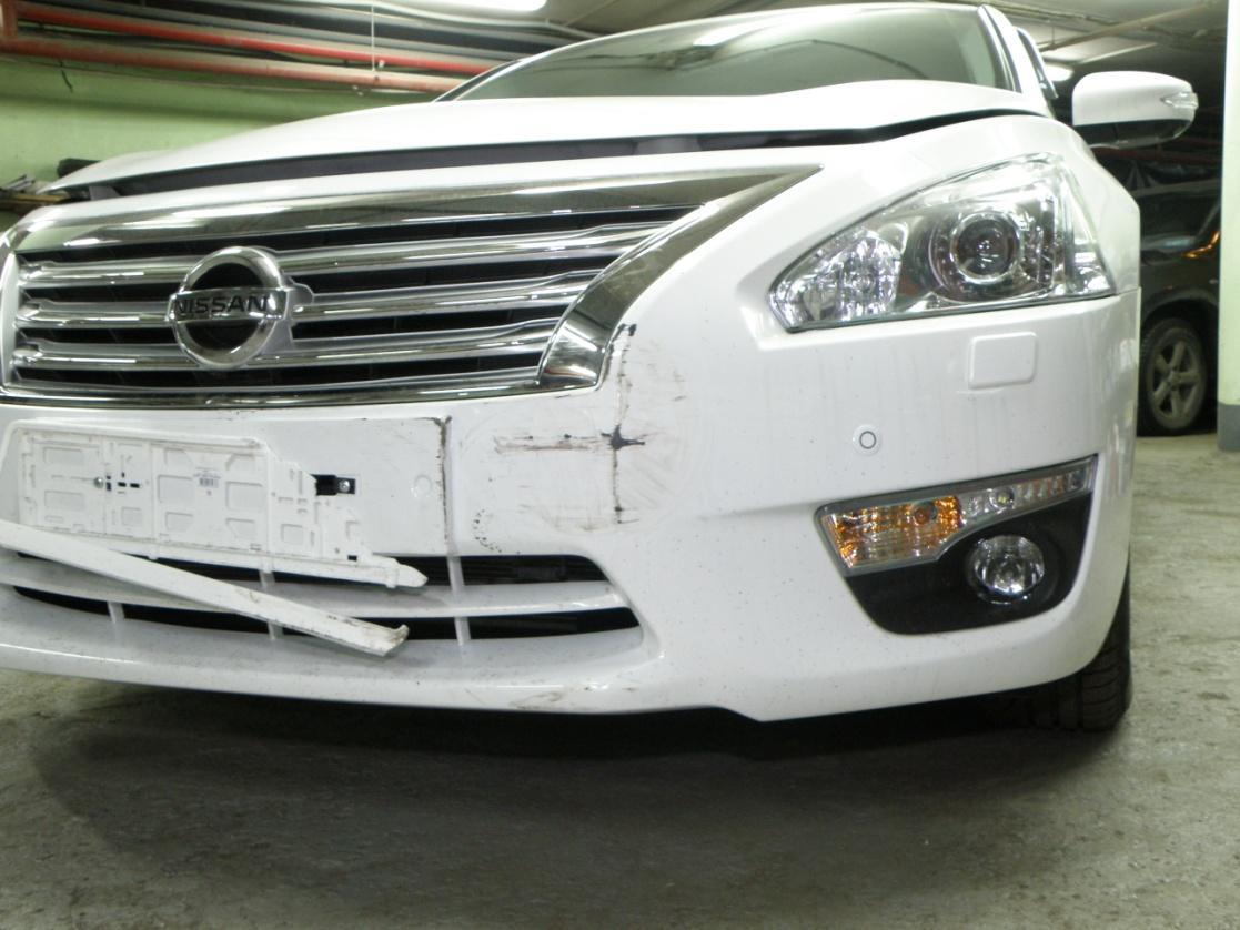 Покраска и ремонт автомобиля NISSAN TIANA 2015